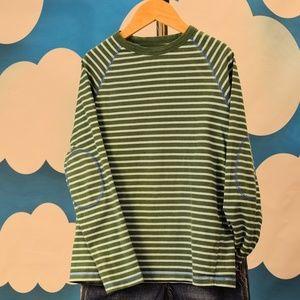 Mini Boden Elbow Striped Tee T-Shirt Boys' 9 10